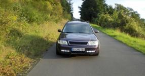 Mein Audi A6 Avant 2,7 Bi_Turbo Hier und da Tuning A6 Allroad Heck TFL schwarze Rückleuchten  Bild 357611