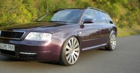Mein Audi A6 Avant 2,7 Bi_Turbo Hier und da Tuning A6 Allroad Heck TFL schwarze Rückleuchten  Bild 357618