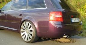 Mein Audi A6 Avant 2,7 Bi_Turbo Hier und da Tuning A6 Allroad Heck TFL schwarze Rückleuchten  Bild 357621