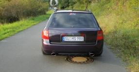 Mein Audi A6 Avant 2,7 Bi_Turbo Hier und da Tuning A6 Allroad Heck TFL schwarze Rückleuchten  Bild 357622