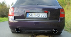 Mein Audi A6 Avant 2,7 Bi_Turbo Hier und da Tuning A6 Allroad Heck TFL schwarze Rückleuchten  Bild 357623