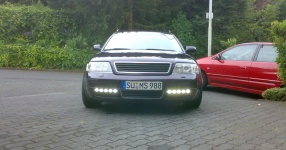 Mein Audi A6 Avant 2,7 Bi_Turbo Hier und da Tuning A6 Allroad Heck TFL schwarze Rückleuchten  Bild 357652