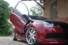 VW GOLF V GTI mit DSG von Steel  Golf, GTI, Showcar, 2/3-Türer, VW, GOLF V (1K1), TFSI, DSG, Airride, Flügeltüren, Showfahrzeug  Bild 435269