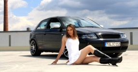 Shooting: Christina vs. Audi A3 1.8T München Shooting Christina Audi A3 1.8T  Bild 438088