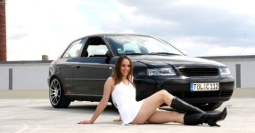 Shooting: Christina vs. Audi A3 1.8T München Shooting Christina Audi A3 1.8T  Bild 438109