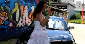 Shooting: Christina vs. Audi A3 1.8T München Shooting Christina Audi A3 1.8T  Bild 438366