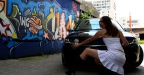 Shooting: Christina vs. Audi A3 1.8T München Shooting Christina Audi A3 1.8T  Bild 438372