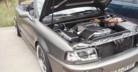 Audi 80 umbau1/2 Beim schrauben und Treffen Audi 80 cabrio Breitbau Rieger  Bild 493726