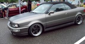 Audi 80 umbau1/2 Beim schrauben und Treffen Audi 80 cabrio Breitbau Rieger  Bild 493728