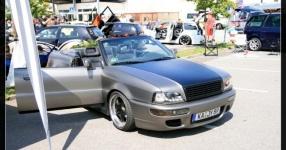 Audi 80 umbau1/2 Beim schrauben und Treffen Audi 80 cabrio Breitbau Rieger  Bild 493729
