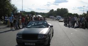 Audi 80 umbau1/2 Beim schrauben und Treffen Audi 80 cabrio Breitbau Rieger  Bild 493732