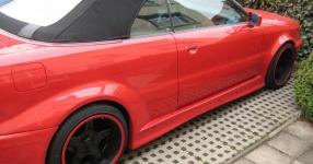 Audi 80 umbau1/2 Beim schrauben und Treffen Audi 80 cabrio Breitbau Rieger Fertig! Bild 493752