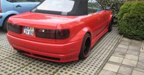 Audi 80 umbau1/2 Beim schrauben und Treffen Audi 80 cabrio Breitbau Rieger Fertig! Bild 493753