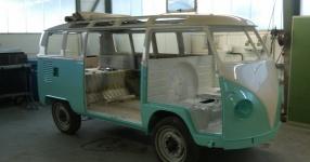 63er VW T1 Samba mit dem gewissen Etwas  VW, T1, Samba, Bus, Oldtimer  Bild 572719