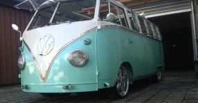 63er VW T1 Samba mit dem gewissen Etwas  VW, T1, Samba, Bus, Oldtimer  Bild 572729