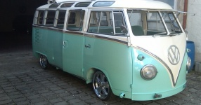 63er VW T1 Samba mit dem gewissen Etwas  VW, T1, Samba, Bus, Oldtimer  Bild 572730