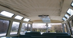 63er VW T1 Samba mit dem gewissen Etwas  VW, T1, Samba, Bus, Oldtimer  Bild 572733