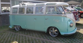 63er VW T1 Samba mit dem gewissen Etwas  VW, T1, Samba, Bus, Oldtimer  Bild 572740