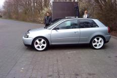 Audi A3 (8L1) 12-1997 von Martinkr  Audi, A3 (8L1), 2/3 Türer  Bild 580680