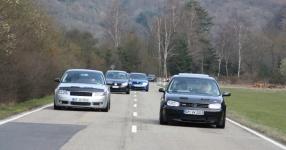 Hinfahrt zur VLN Nürburgring VLN Golf Treffen meingolf.de  Bild 581445
