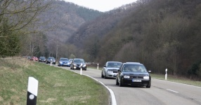Hinfahrt zur VLN Nürburgring VLN Golf Treffen meingolf.de  Bild 581446