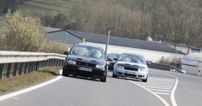 Hinfahrt zur VLN Nürburgring VLN Golf Treffen meingolf.de  Bild 581448