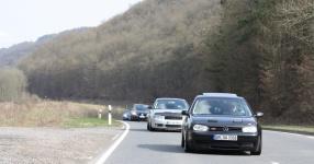 Hinfahrt zur VLN Nürburgring VLN Golf Treffen meingolf.de  Bild 581451