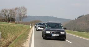 Hinfahrt zur VLN Nürburgring VLN Golf Treffen meingolf.de  Bild 581458