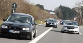 Hinfahrt zur VLN Nürburgring VLN Golf Treffen meingolf.de  Bild 581460