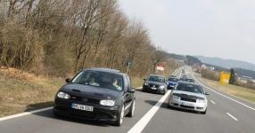 Hinfahrt zur VLN Nürburgring VLN Golf Treffen meingolf.de  Bild 581463