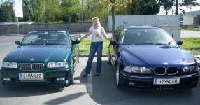 BMW 3 Cabriolet (E36) 05-1995 von SCHMORNDERL  Cabrio, BMW, 3 Cabriolet (E36)  Bild 583148