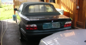 BMW 3 Cabriolet (E36) 05-1995 von SCHMORNDERL  Cabrio, BMW, 3 Cabriolet (E36)  Bild 597825