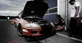 INCO Racing-Team Spreewaldring Honda Civic Turbo Rennstrecke Spreewaldring Inco Racing Team  Bild 624449