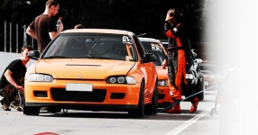 INCO Racing-Team Spreewaldring Honda Civic Turbo Rennstrecke Spreewaldring Inco Racing Team  Bild 624459