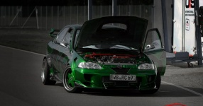 INCO Racing-Team Spreewaldring Honda Civic Turbo Rennstrecke Spreewaldring Inco Racing Team  Bild 624473