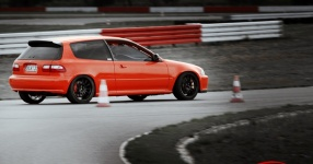 INCO Racing-Team Spreewaldring Honda Civic Turbo Rennstrecke Spreewaldring Inco Racing Team  Bild 624488