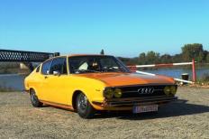 Mrs. Orangina - Ein Audi 100 Coupé S wird zum Retro-Airrider