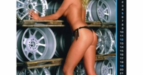 Girls & Cars Kalender 2012 Firma Mohn Girls & Cars   Bild 651888