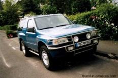Opel FRONTERA A Sport (5SUD2) 00-1995 von LOSTinEMOTIONS  Opel, FRONTERA A Sport (5SUD2), Geländewagen  Bild 658905