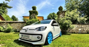 VW up! - It´s up to you!  Volkswagen, VW, up!, white up!  Bild 673446