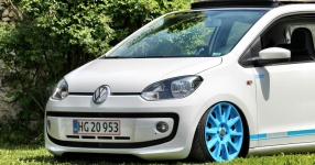 VW up! - It´s up to you!  Volkswagen, VW, up!, white up!  Bild 673450