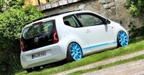 VW up! - It´s up to you!  Volkswagen, VW, up!, white up!  Bild 673464