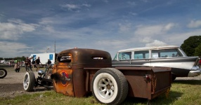 Event Reportage - 1st Hot Rod and Custom Car Show  Hot Rod, Chimay, Raceway, Custom Show  Bild 688435