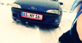 Wintersaison Schnaittenbach Opel Tigra Winter  Bild 716404