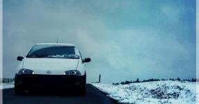 Wintersaison Schnaittenbach Opel Tigra Winter  Bild 716412