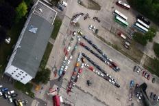 50 Jahre ACC, geparkt wird standesgemäß im Doppelwinkel Bild 720110