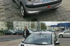 Peugeot 206 Schrägheck (2A/C) 10-2001 von ventus  Peugeot, 206 Schrägheck (2A/C), 2/3 Türer  Bild 737261