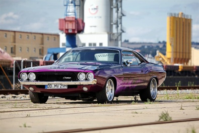 Dodge Challenger made for her