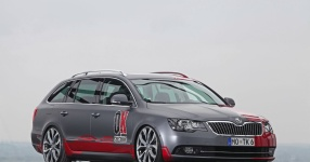OK-Chiptuning pimpt den Skoda Superb Combi