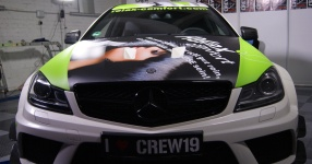 CREW19 Girls Düsseldorf bei Clever-Beschriften AMG Black Series Crew19 clever beschriften crew19 Bild 760048
